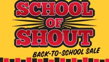 School-Of-Shout-Sale
